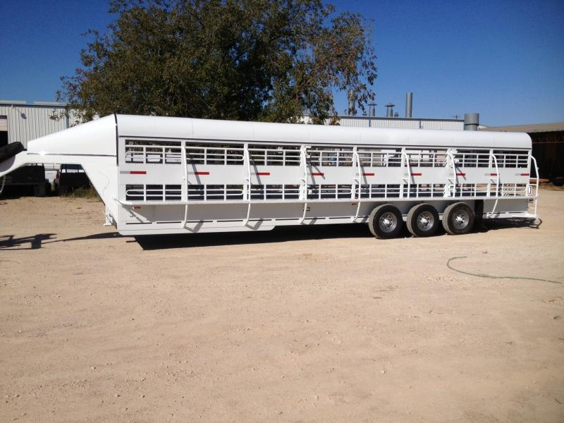 "6'8"" X 32' DOUBLE DECK SHEEP TRAILER"
